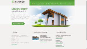 Webové stránky Refingo